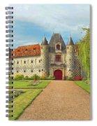 Chateau De Saint-germain-de-livet, Normandy, France Spiral Notebook