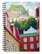 Chateau Frontenac 02 Spiral Notebook