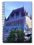 Chateau Frontenac, Montreal Spiral Notebook