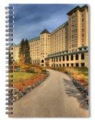 Chateau Lake Louise Alberta Canada Spiral Notebook