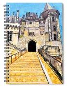 Chateau Saumur, A Long Way Up Spiral Notebook