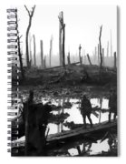 Chateau Wood France World War One  1917 Spiral Notebook