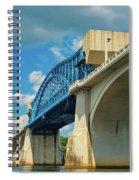 Chattanooga Bridge Spiral Notebook