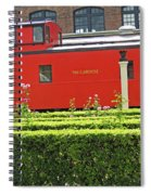 Chattanooga Choo Choo - The Caboose Spiral Notebook