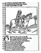 Chaucer: The Prioress Spiral Notebook
