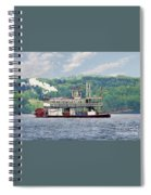 Chautauqua Belle 1 Spiral Notebook