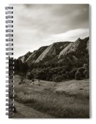 Chautauqua Night Path 2 Spiral Notebook