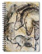 Chauvet Horses Aurochs And Rhinoceros Spiral Notebook