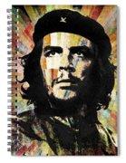 Che Guevara Revolution Gold Spiral Notebook