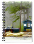 Cheaha Lake Spiral Notebook