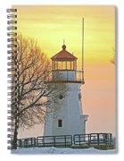 Cheboygan Harbor Light 2 Spiral Notebook