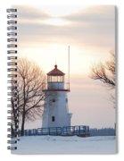 Cheboygan Harbor Light Spiral Notebook