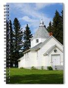 Chechow Holy Spirit Church 2  Spiral Notebook