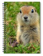 Check Out My Good Side Spiral Notebook