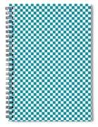 Checkerboard Spiral Notebook