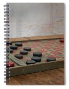 Checkered Past - Checkers Spiral Notebook