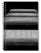 Checkered Steps Spiral Notebook