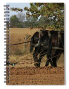 Checking The Row Full Color 5421 H_2 Spiral Notebook