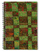 Checkoff Abstract Pattern Spiral Notebook