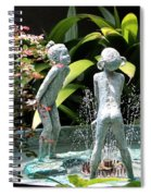 Cheekwood Fountain Spiral Notebook