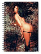 Cheeky Nude Spiral Notebook