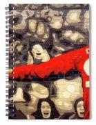 Cheer For Dusseldorf Spiral Notebook