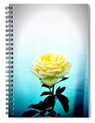 Cheerful Yellow Rose Spiral Notebook