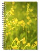 Cheery Buttercups Spiral Notebook