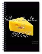Cheese Spiral Notebook