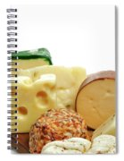 Cheese Slices Spiral Notebook