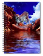 Cheetah Lake Spiral Notebook