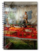 Chef - Vegetable - Jersey Fresh Farmers Market Spiral Notebook