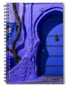Chefchaouen Hotel Door Spiral Notebook