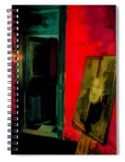 Chelsea Hotel Abstract Spiral Notebook