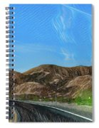 Chem Trails Valley Of Fire  Spiral Notebook