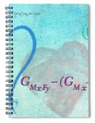 Chemical Thermodynamic Equation For Love Spiral Notebook