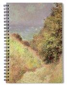 Chemin De La Cavee Pourville Spiral Notebook