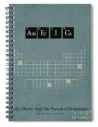 Chemistry Of A Nation Spiral Notebook
