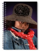 The Colour Purple Spiral Notebook