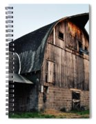 Chequamegon National Forest Barn Spiral Notebook