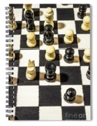 Chequered Strategic Battle Spiral Notebook