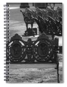 Cherb Benches Spiral Notebook
