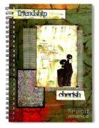 Cherished Friends Spiral Notebook