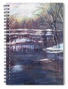 Cherokee Park Bridge Spiral Notebook