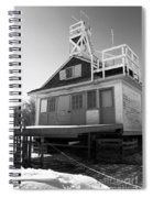 Cherry Beach Boat House Spiral Notebook