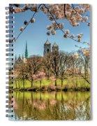 Cherry Blossom Branch Brook Park, Newark, Nj  Spiral Notebook