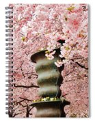 Cherry Blossom In Stockholm Spiral Notebook