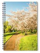 Cherry Blossom Lane Spiral Notebook