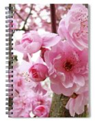 Cherry Blossoms Art Prints 12 Cherry Tree Blossoms Artwork Nature Art Spring Spiral Notebook
