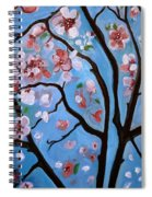 Cherry Blossoms In Bloom Spiral Notebook
